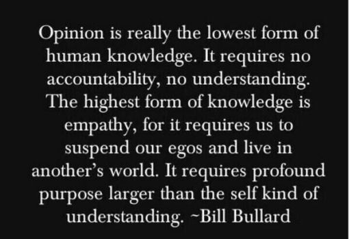 bill bullard_empathy quote