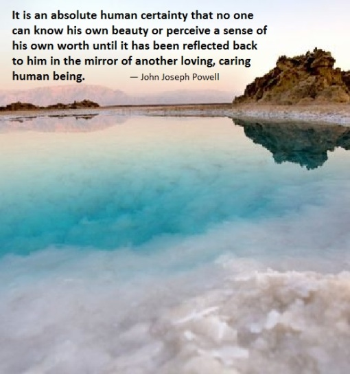 empathy reflection_dead sea