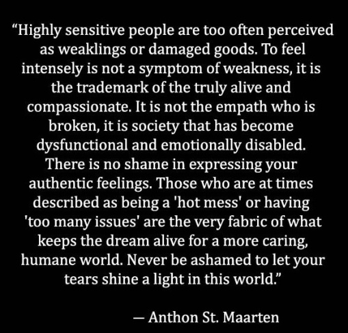 highly sensitive people are humane